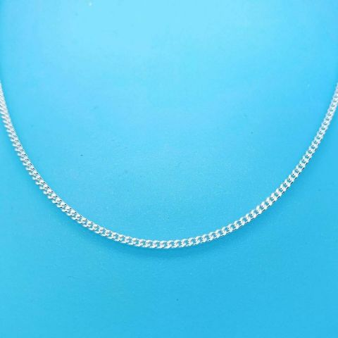 Genuine 925 Sterling Silver 2mm Wide Curb Connell Chain (BBC's Normal People)